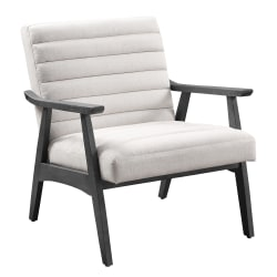 Office Star™ Asher Chair, Linon/Gray Washed