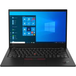 """Lenovo ThinkPad X1 Carbon 8th Gen 20U9003VUS 14"""" Ultrabook - Full HD - 1920 x 1080 - Intel Core i5-10210U 1.60 GHz - 8 GB RAM - 256 GB SSD - Black - Windows 10 Pro - Intel UHD Graphics"""