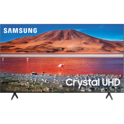 "Samsung UN58TU7000F - 58"" Diagonal Class (57.5"" viewable) - 7 Series LED TV - Smart TV - Tizen OS - 4K UHD (2160p) 3840 x 2160 - HDR - New Direct Backlight - titan gray"
