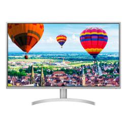 "LG 32"" QHD LED IPS Monitor With Radeon FreeSync, 32QK500-W"