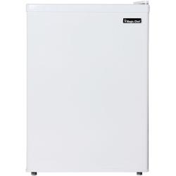 Magic Chef 2.4 cu. ft. Mini Refrigerator - 2.40 ft³ - Manual Defrost - Reversible - White