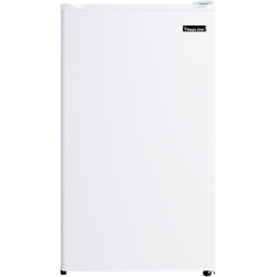 Magic Chef 3.5 cu. ft. Mini Refrigerator - 3.50 ft³ - Manual Defrost - 3.50 ft³ Net Refrigerator Capacity - White - Wire Shelf
