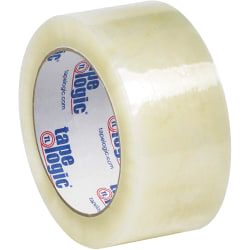 "Tape Logic® #7651 Cold Temperature Tape, 3"" Core, 2"" x 110 Yd., Clear, Case Of 6"
