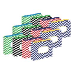 Barker Creek Tab File Folders, Letter Size, Nautical Chevron, Pack Of 36 Folders