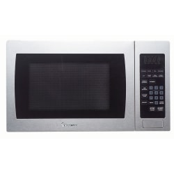 Magic Chef MCM990ST Microwave Oven - 6.73 gal Capacity - Microwave - 10 Power Levels - 900 W Microwave Power - 110 V AC - Stainless Steel, Silver