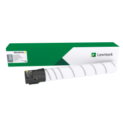 Lexmark™ 76C0HY0 High-Yield Cartridge Collection Program Yellow Toner Cartridge