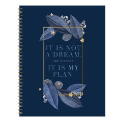"""TF Publishing Large Weekly/Monthly Planner, 8-1/2"""" x 11"""", My Plan, January To December 2021"""