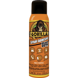 Gorilla Glue Gorilla Spray Adhesive - 14 oz - Clear
