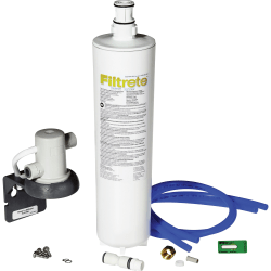 Filtrete Under Sink Filtration Kit - Faucet - 1500 gal / 6 Month - 1 Each - White