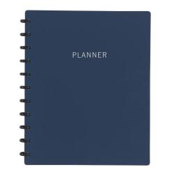 TUL™ Discbound Monthly Planner Starter Set, Letter Size, Navy, January To December 2021, TULLTPLNR-RY-NY
