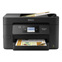 Epson® WorkForce® Pro WF-3820 Wireless Inkjet All-in-One Color Printer, C11CJ07201
