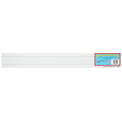 """Dowling Magnets Large Magnet Sentence Strips, 3"""" x 24"""""""", White, 10 Stripes Per Pack, Bundle Of 2 Packs"""