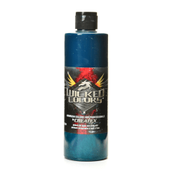 Createx Wicked Colors Airbrush Paint, 16 Oz, Phthalo Green