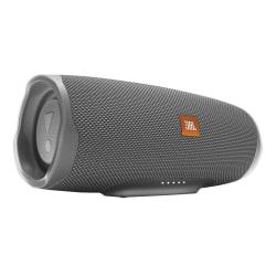 JBL Charge 4 Portable Bluetooth® Speaker, Gray, JBLCHARGE4GRYAM