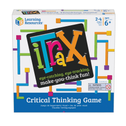 """Learning Resources iTrax™ Critical Thinking Game, 8"""" x 8"""""""