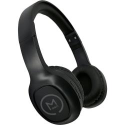 Morpheus 360 HP-4500 Wireless Headphone - Stereo - Wired/Wireless - Bluetooth - 32 Ohm - 22 Hz - 20 kHz - Over-the-head - Binaural - Circumaural - Black
