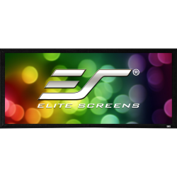 """Elite Screens Sable Frame 2 Series - 135-inch Diagonal 16:9, Active 3D 4K Ultra HD Ready Fixed Frame Home Theater Projection Projector Screen, ER135WH2"""""""