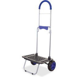 "dbest Bigger Mighty Max Dolly - 220 lb Capacity - x 18"" Width x 14"" Depth x 40"" Height - Blue - 1 Each"