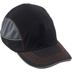 Ergodyne Skullerz® Bump Cap, 8950 Long Brim, Black