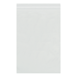 """Office Depot® Brand Reclosable 4-mil Poly Bags, 14"""" x 10"""", Clear, Case Of 500"""