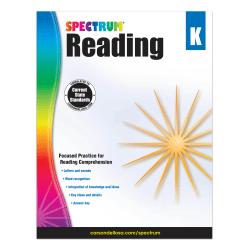 Carson-Dellosa Spectrum Reading Workbook, Kindergarten