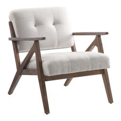 Office Star™ Reuben Arm Chair, Beige/Brown