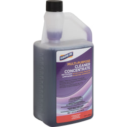 Genuine Joe Lavender Concentrated Multipurpose Cleaner - Concentrate Liquid - 32 fl oz (1 quart) - Lavender ScentBottle - 1 Each - Purple