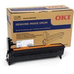 Oki 30K Cyan Image Drum for C712 - LED Print Technology - 30000 - 1 Each