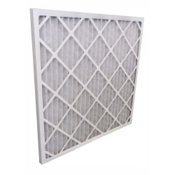 "Tri-Dim Pro HVAC Pleated Air Filters, Merv 9, 24"" x 24"" x 1"", Case Of 12"