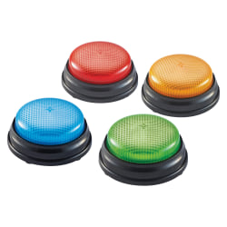 Learning Resources Lights & Sounds Buzzers Set - Theme/Subject: Learning - Skill Learning: Sound, Game - 3+ - 4 / Each