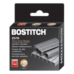 "Bostitch® Premium Heavy-Duty Staples, 3/8"" Standard Strip, Box of 3,000"