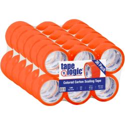 """Tape Logic® Carton Sealing Tape, 2"""" x 55 Yd., Orange, Case Of 36"""