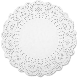 Sparco White Round Doilies - Art Project, Craft Project, Classroom, Paper Crafting, Cardmaking, Scrapbooking, Stamping - Recommended For - 30 / Pack - White