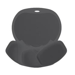 Fellowes® Easy Glide Wrist Rest, Black/Black