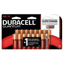 Duracell® Quantum AA Alkaline Batteries, Pack Of 16 Batteries