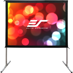 """Elite Screens Yard Master 2 - 135-INCH 16:9, 4K / 8K Ultra HD, Active 3D, HDR Ready Portable Foldaway Movie Home Theater Projector Screen, FRONT Projection - OMS135H2"""""""