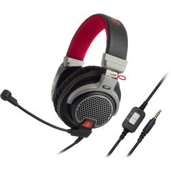 Audio-Technica ATH-PDG1 Premium Gaming Headset - Stereo - Mini-phone - Wired - 39 Ohm - 20 Hz - 20 kHz - Over-the-head - Binaural - Circumaural