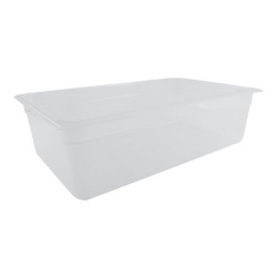 """Cambro Full Size Food Pan, 5-13/16""""H x 20-7/8""""W x 12-7/8""""D, Clear"""