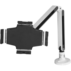 """StarTech.com Desk-Mount Tablet Arm - Articulating - For 9"""" to 11"""" Tablets - iPad or Android Tablet Holder - Lockable - Steel - White"""