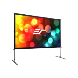 Elite Screens Yard Master 2 - 135-INCH 16:9, 4K / 8K Ultra HD, Active 3D, HDR Ready Portable Foldaway Movie Home Theater Projector Screen, REAR Projection - OMS135HR2""