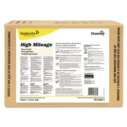 Diversey™ High Mileage® UHS Floor Finish, Light Scent, 640 Oz