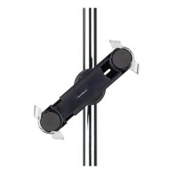 Tarifold Pole Mount Tablet Holder, Black/Clear, X570057