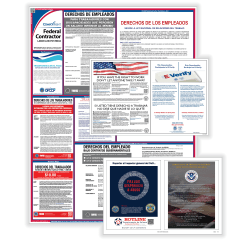 ComplyRight™ Federal Contractor General Industry Labor Law 1-Year Poster Service, Spanish
