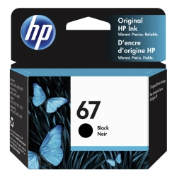 HP 67 Black Original Ink Cartridge (3YM56AN)