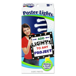 ArtSkills® Poster Lights, White
