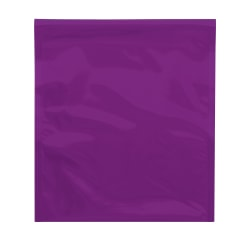 "Office Depot® Brand Metallic Glamour Mailers, 13"" x 10-3/4"", Purple, Case Of 250 Mailers"