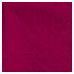 "Hoffmaster Napkins, 4-3/4"" x 4-3/4"", Burgundy, Case Of 1,000 Napkins"