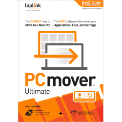 PCmover Ultimate 1 Use, Download and Traditional Disc