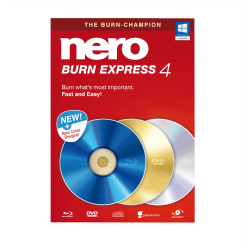 Nero Burn Express 4, Disc