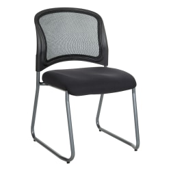 Office Star™ ProGrid Visitors Chair, Black